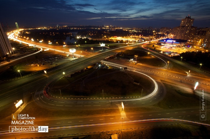 Kyiv at Night, by Sergiy Kadulin