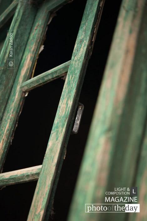 Fading Green Window, by Karan Zadoo