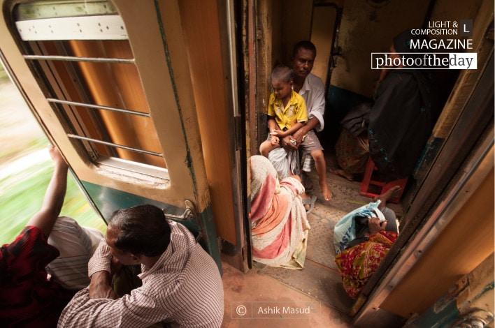 The Daily Train Riders, by Ashik Masud