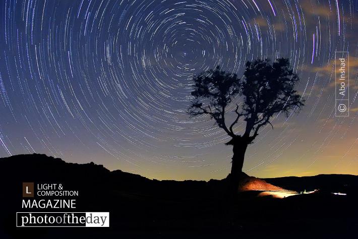 Star Trails, by Abo Inshad