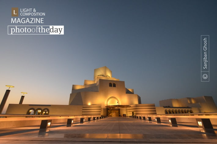 Museum in the Twilight, by Sanjiban Ghosh