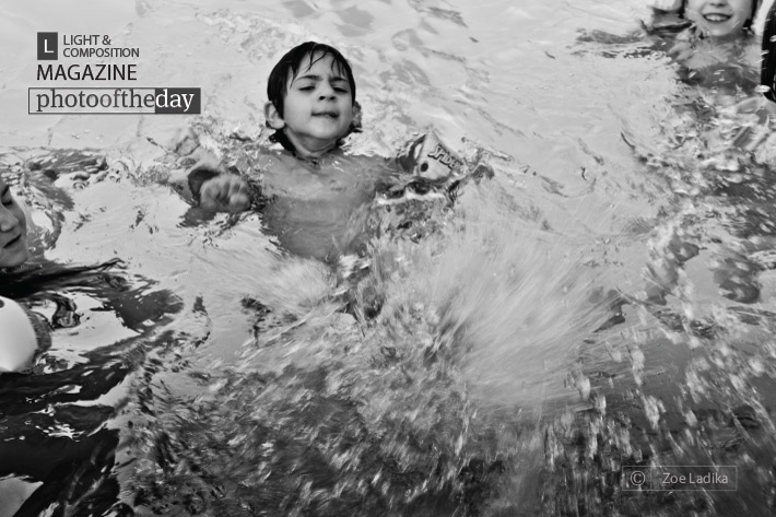 Splashing, by Zoe Ladika