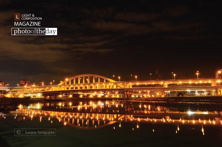 Bridge at the Twilight Hours, by Sanjoy Sengupta