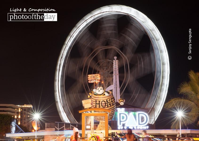 Ferris Wheel, by Sanjoy Sengupta