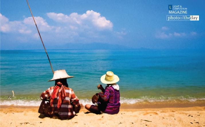 Two Ladies Fishing, by Jim Perceval