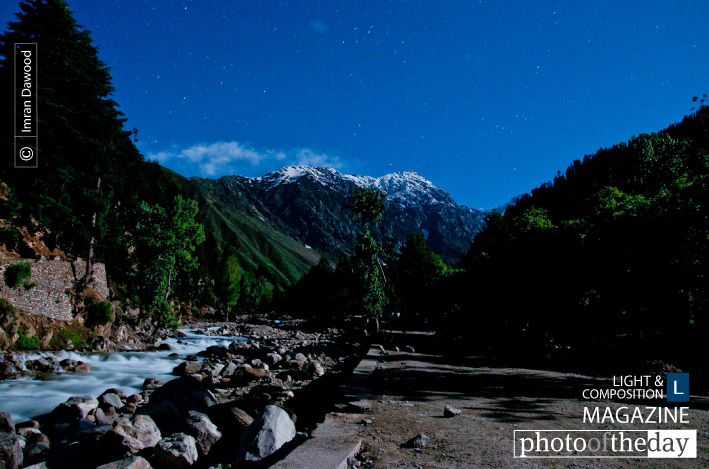 Naran at Full Moon Night, by Imran Dawood