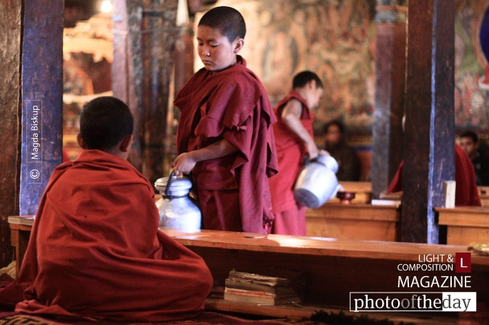 Young Monks, by Magda Biskup