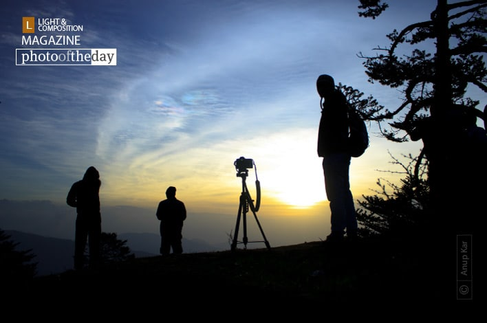 Waiting for Sunrise, by Anup Kar