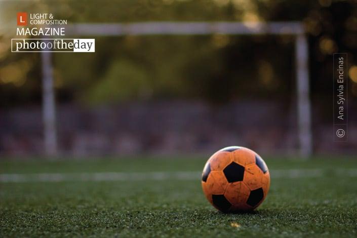 The Football Itself, by Ana Sylvia Encinas