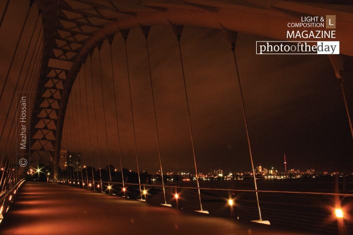 The Humber Bridge by Mazhar Hossain