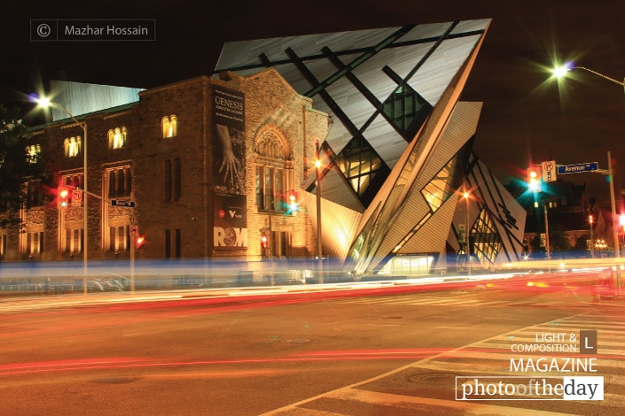 Royal Ontario Museum, by Mazhar Hossain