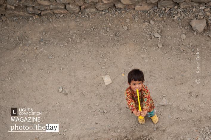 A Cute Little Girl, by Karan Zadoo