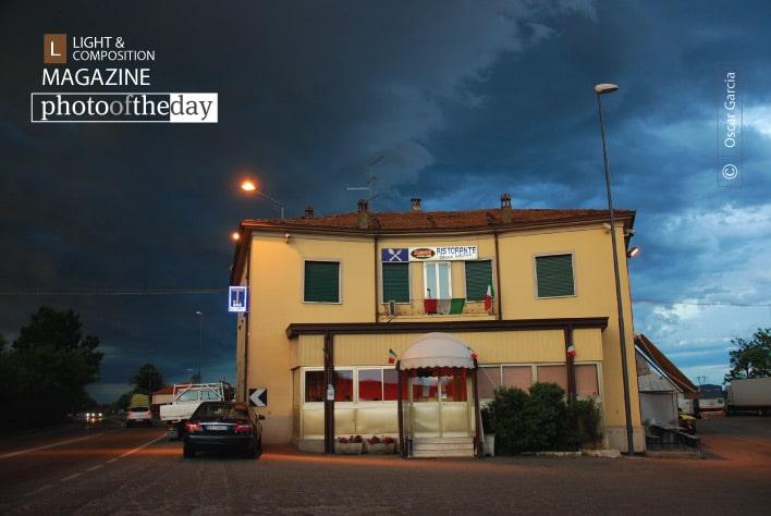 An Italian Restaurant, by Oscar Garcia