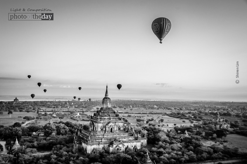 Balloons over Bagan, by Shirren Lim