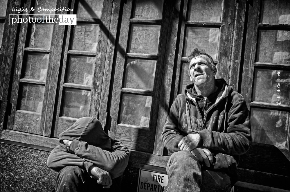Construction Workers On Lunch Break, by Keith Goldstein