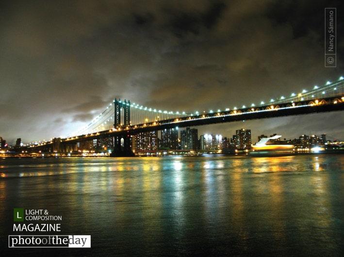 Manhattan Bridge, by Nancy Sámano
