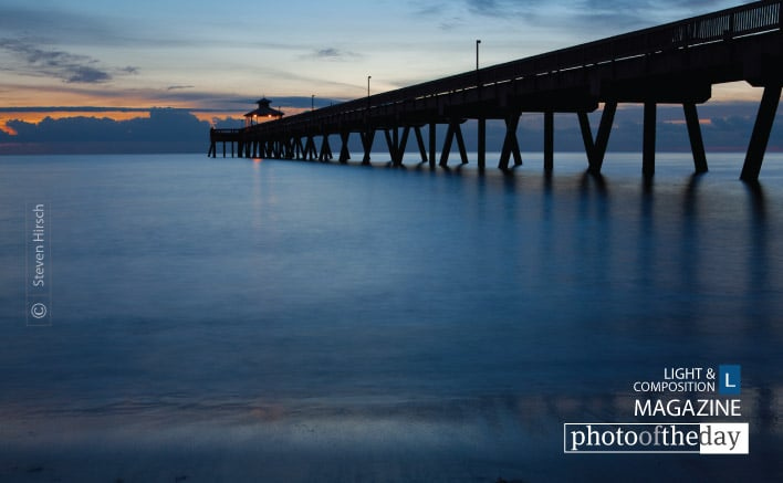 Deerfield Pier, by Steve Hirsch