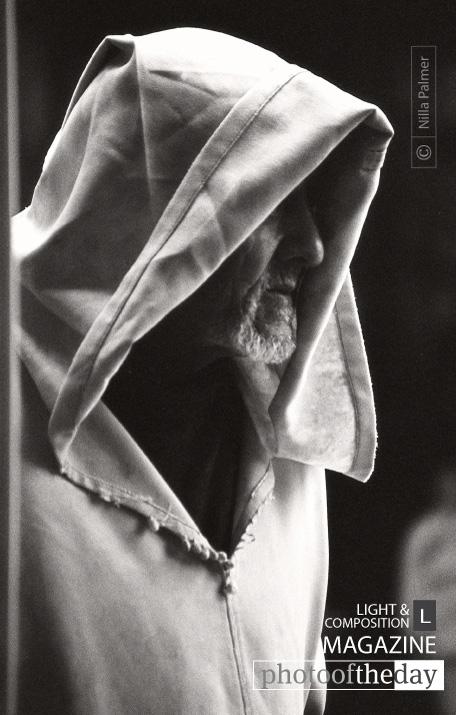 Hooded Man, by Nilla Palmer
