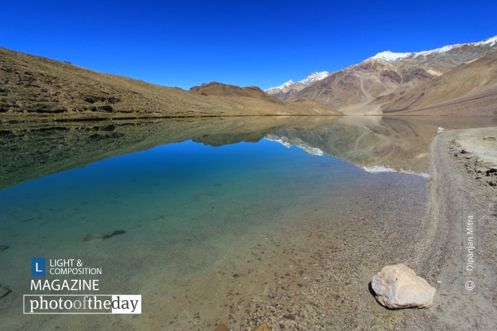 The Splendor of Chandratal, by Dipanjan Mitra