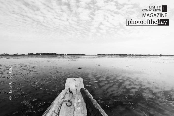 A Boat in the Wetland, by Saniar Rahman Rahul