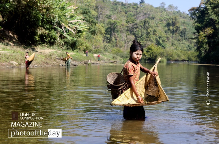 Tribal Fisher Girls, by Shahnaz Parvin