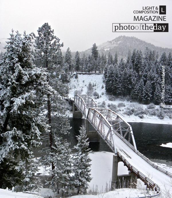 Bridge Over Clark Fork River, by Tisha Clinkenbeard