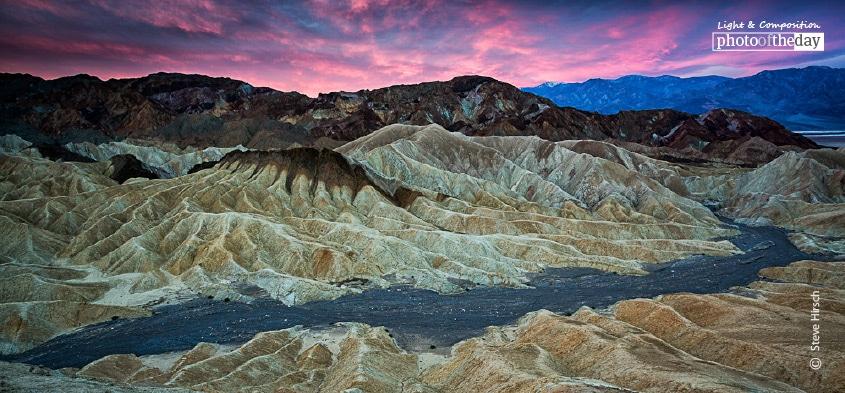Fire in the Desert, by Steve Hirsch
