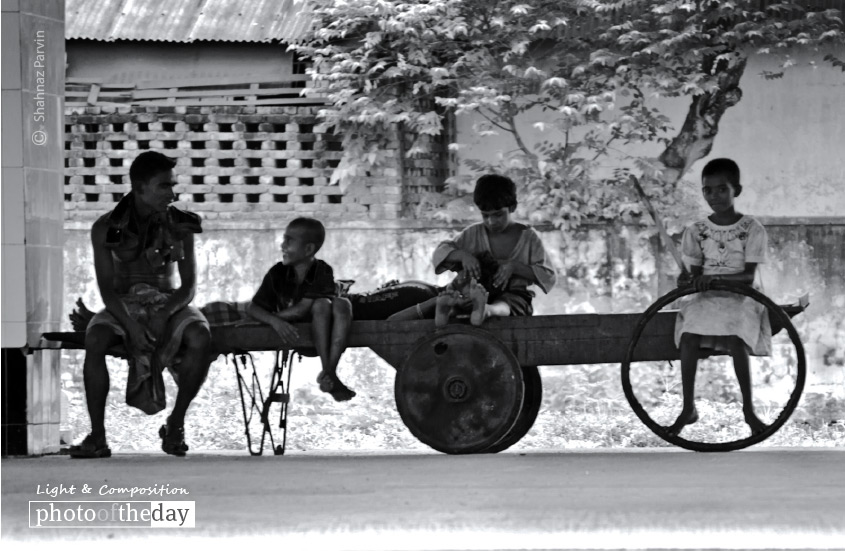 Break Time, by Shahnaz Parvin
