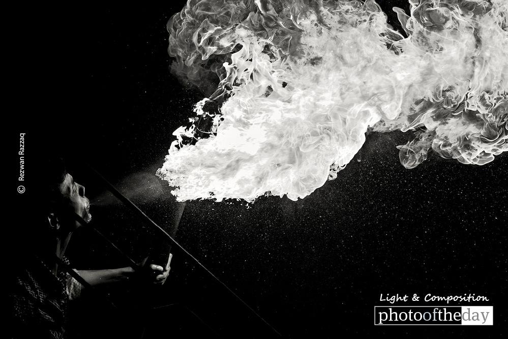 The Flame Thrower, by Rezwan Razzaq