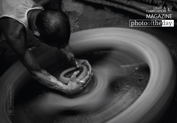 The Potter and His Wheel, by Shahnaz Parvin