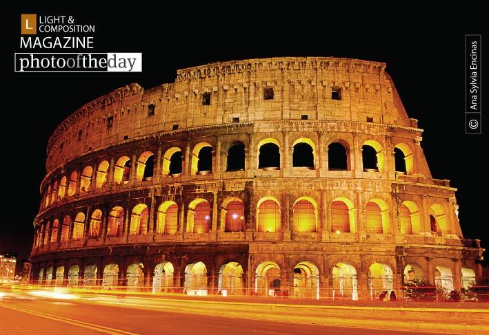 El Coliseo Romano, by Ana Sylvia Encinas