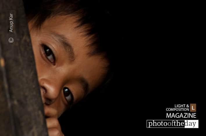 Peeping, by Anup Kar