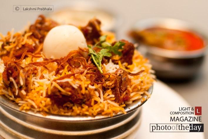 Hyderabadi Biryani, by Lakshmi Prabhala