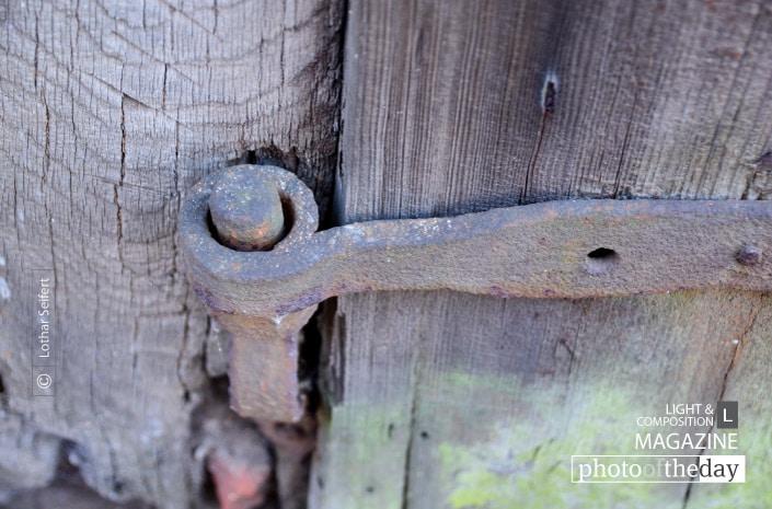 An Old Gate, by Lothar Seifert
