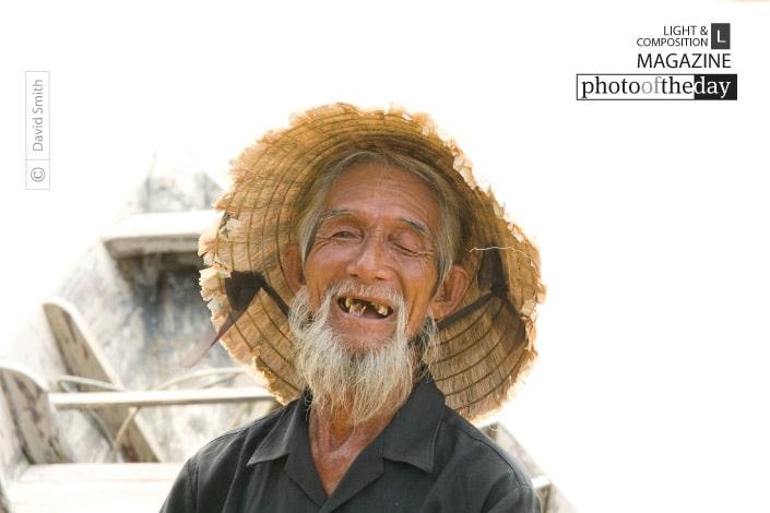 Hoi An Fisherman, by David Smith