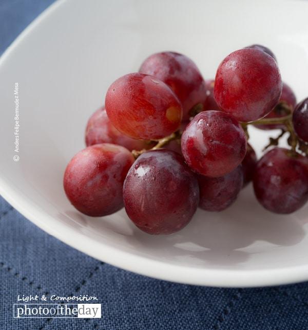 Red Grapes, by Andres Felipe Bermudez Mesa