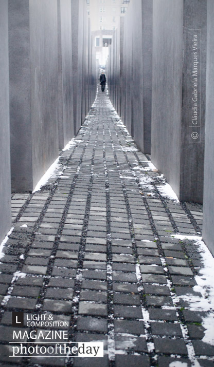 Holocaust Memorial, by Cláudia Vieira