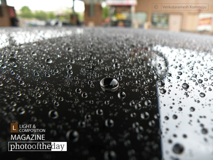 Raindrops Keep Falling, by Venkataramesh Kommoju