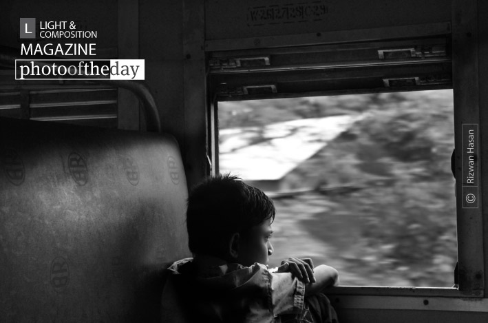 Lost in His Little World, by Rizwan Hasan