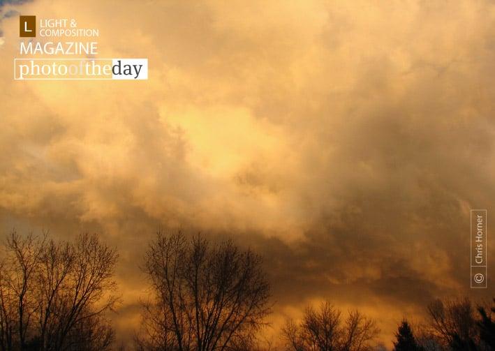 Weird Sky, by Chris Horner