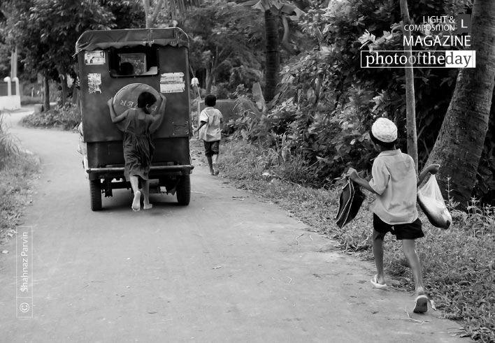 Running Back Home, by Shahnaz Parvin