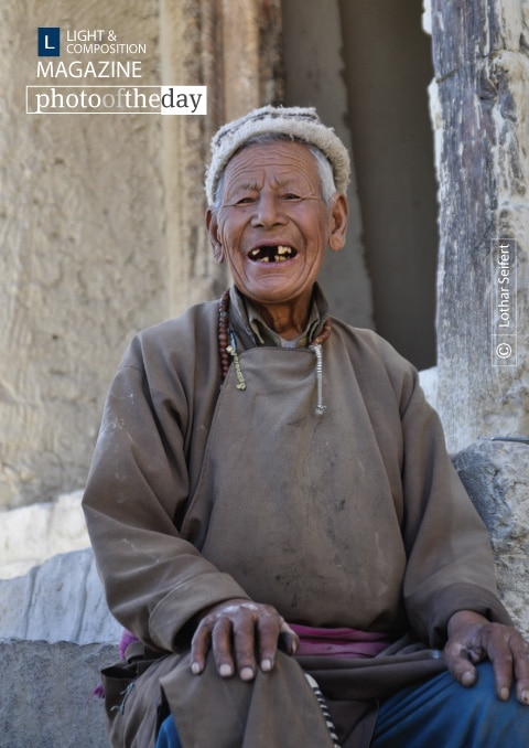 A Man from Ladakh, by Lothar Seifert