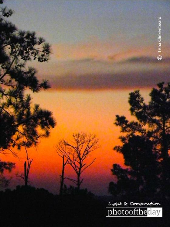 Birthday Sunrise in Texas, by Tisha Clinkenbeard