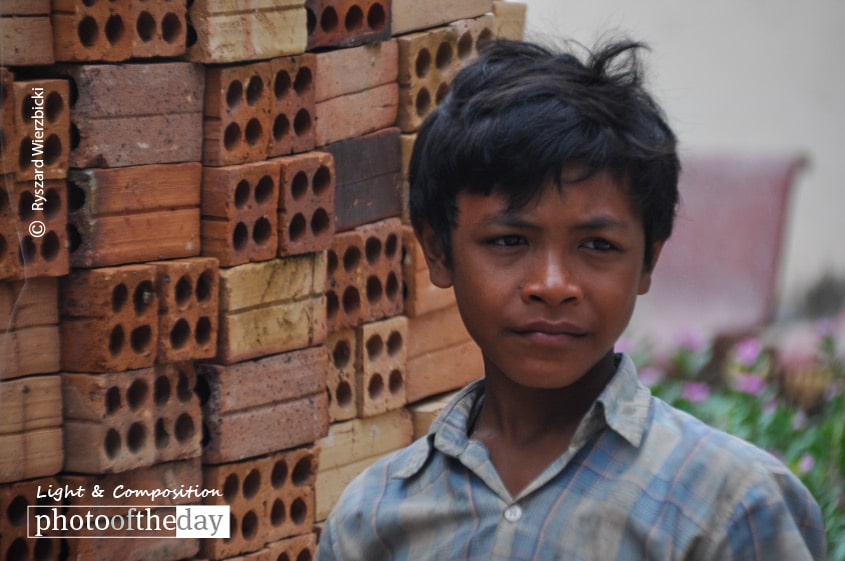 The Cambodian Boy, by Ryszard Wierzbicki