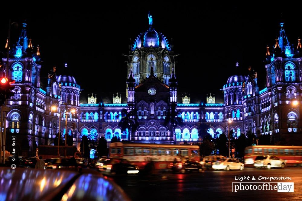 Mumbai Railway Station, by Kristian Bertel