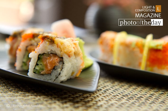 Salmon Sushi, by Bashar Alaeddin