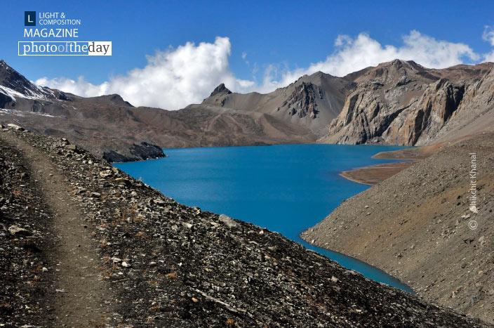 Trail to Heaven's Lake, by Shikchit Khanal