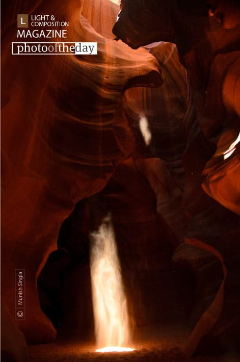 Awe-inspiring Rays, by Munish Singla