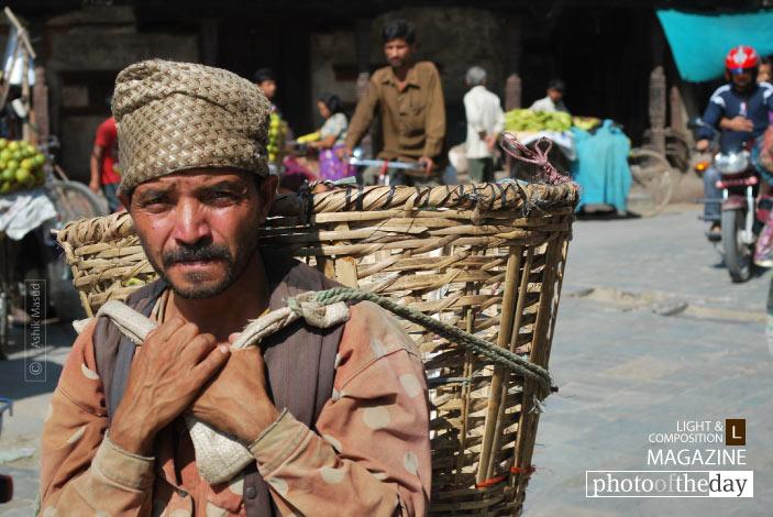 On the Street of Kathmandu, by Ashik Masud