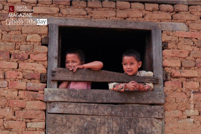 Siblings in the Widow, by Shikchit Khanal